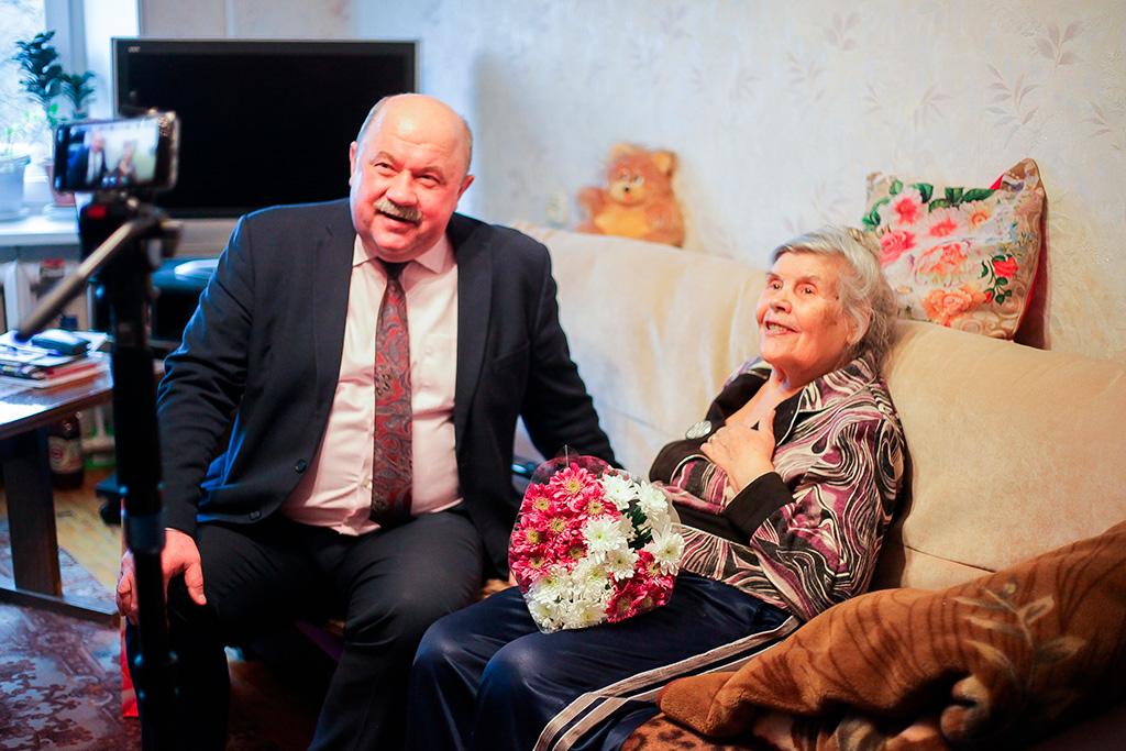 Татьяне Павловне Шишагиной 85 лет