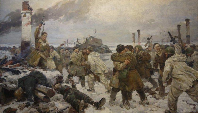 77 лет прорыву блокады Ленинграда