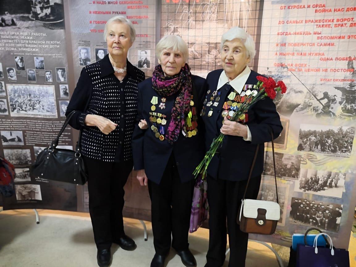 Поздравление жителей блокадного Ленинграда