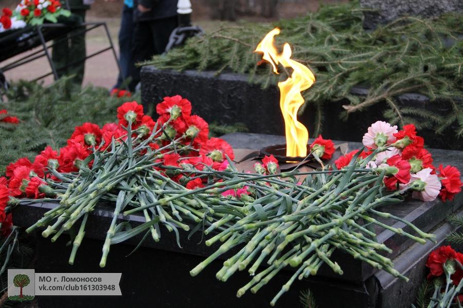 Торжественно-траурная церемония на мемориале Малая Пискарёвка