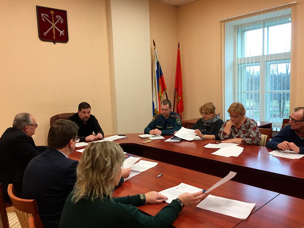 Заседание Общественного совета по малому предпринимательству