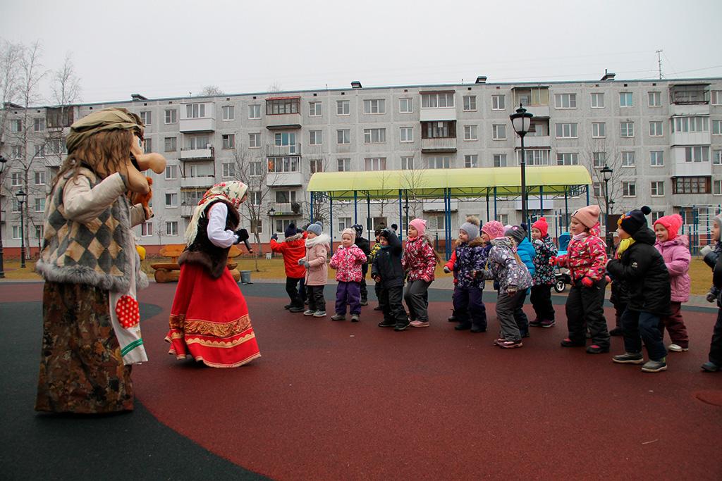 "Праздник двора ""Удальцы-Молодцы"""