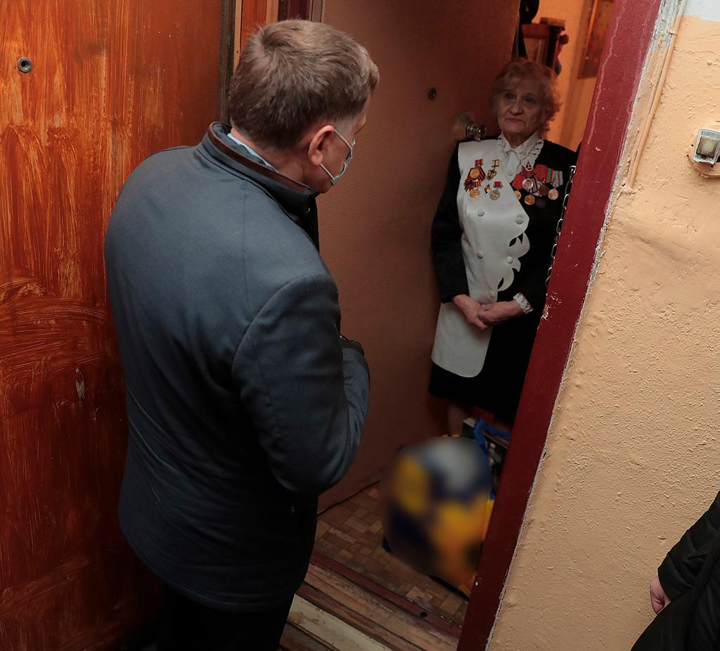 Адресная помощь петербуржцам