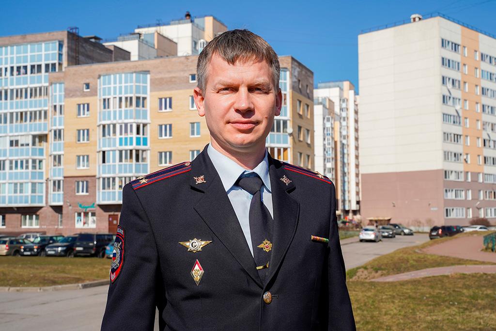 Подролковник полиции Москаленко Василий Николаевич