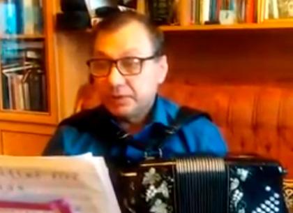 Первый урок онлайн с руководителем хора русской песни