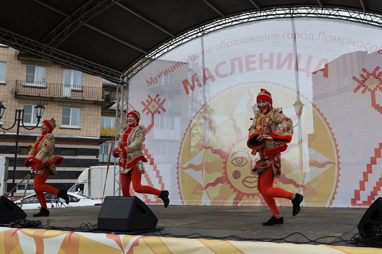 13 марта в Ломоносове праздновали Масленицу