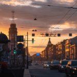 Волшебные закаты на Невском проспекте от [id141534190|Татьяны Кормашовой]